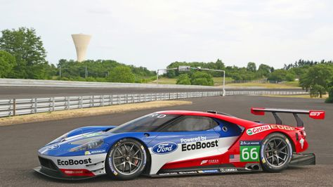 Ford Gt Heading Back To Le Mans W Video With Images Ford Gt Le Mans Ford Gt Honda Sports Car