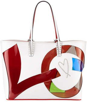 a6f8b638e35 Christian Louboutin Cabata Love Calf Paris Tote Bag | Products ...