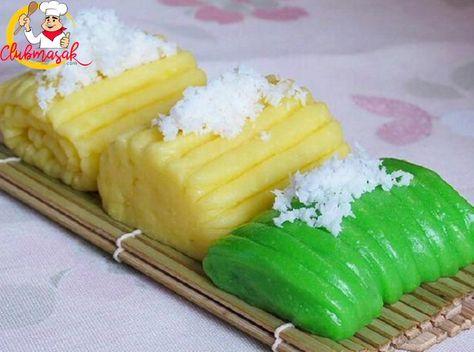 Resep Jajanan Pasar Yang Mudah Getuk Manis Club Masak Lekker Desserts