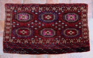 Wonderful Turkmen Tekke From Mid 19th Century Or Earlier Soft Like Velvet With Insect Dyed Silk Highlights In Great Conditio Silk Dyeing Turkmen Bohemian Rug