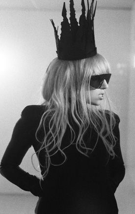 My favorite outfit she wears in the Bad Romance video.