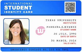 Image Result For Student Id Card Design Psd Free Download Id