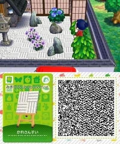 Zen Garden Sandbox Qr Code Animal Crossing Animal Crossing Qr