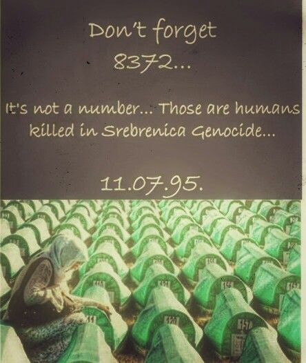 Srebrenica Genocide..In 1992 in the middle of Europe 9000 Bosnian Muslim  killed and noone did anything... | People | Pinterest | Muslim and History