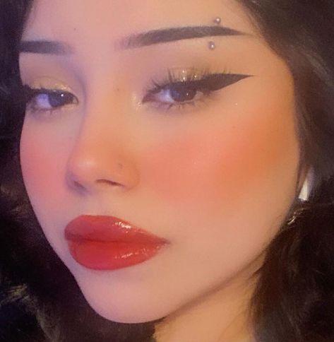Edgy Makeup, Indie Makeup, Grunge Makeup, Dramatic Makeup, Pink Makeup, Cute Makeup, Girls Makeup, Pretty Makeup, Makeup Inspo