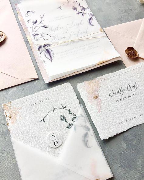 Hallo Monday😊 #artisan #botanicaldrawing #invitationsuite #stationary #invitation #papeterie #paperlove #papergoods #onmydesk #organic…