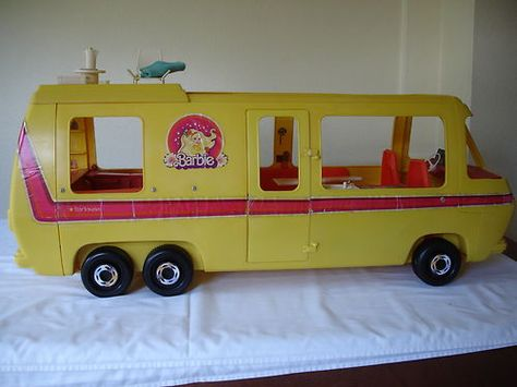 Barbie Campervan Came Out In The Late 70s But Was Available Early 80s