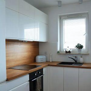 Moje Idealia Blog Lifestylowy Diy Wnetrza Ciaza I Macierzynstwo Uroda Kuchnia Jak Urzadzic Praktyczna I Nowoczesna Kuchnie Kitchen Renovation Kitchen Design Small Kitchen
