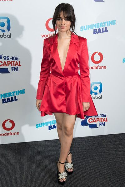 Camila Cabello attends the Capital Summertime Ball 2018 at Wembley Stadium.