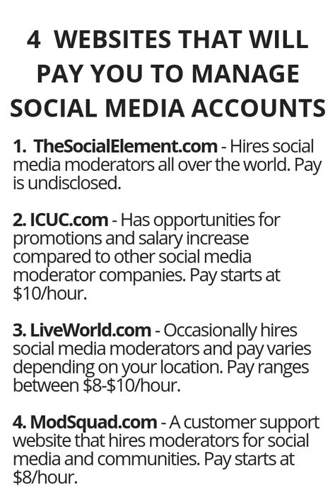 4 Websites That Will Pay You To Manage Social Media Accounts