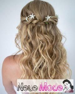 Halboffene Frisur Neue Halboffene Frisuren 2019 Abiball Frisuren Halboffen Bra Long Wavy Hair Wedding Hairstyles For Long Hair Curly Hair Styles Naturally