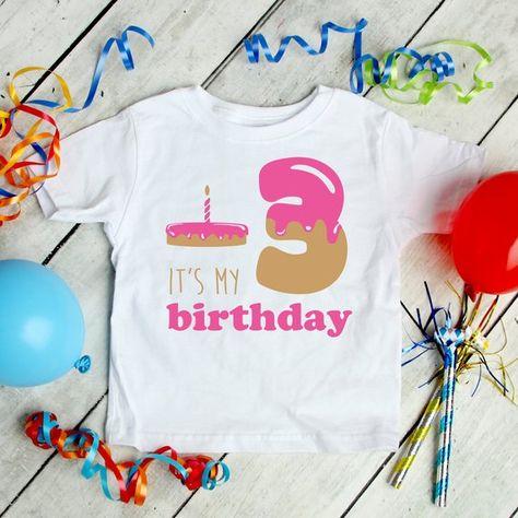 Its My Birthday SVG EPS DXF Svg Baby Girl