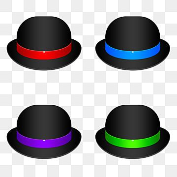 Bowler Hat Collection Collection Icons Hat Icons Hat Png Transparent Clipart Image And Psd File For Free Download Bowler Hat Clip Art Free Artwork
