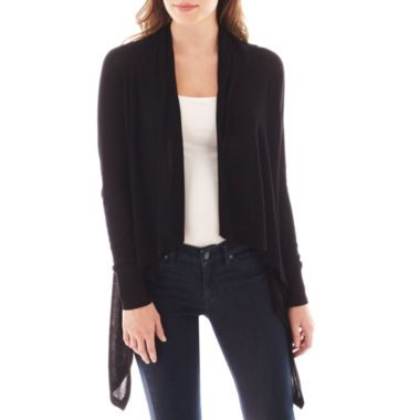 MNG by Mango® Long-Sleeve Open-Front Cardigan Sweater found at ...
