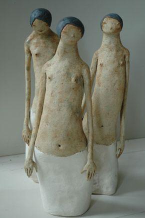 langt liv' (Woman with long life) by Norwegian sculptor Maria Øverbye. via the artist's sitemed langt liv' (Woman with long life) by Norwegian sculptor Maria Øverbye.