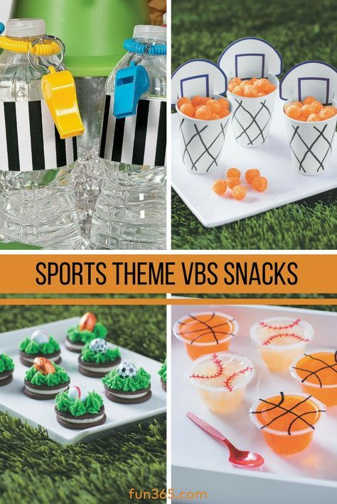 Having a sports-themed VBS? Feed your hungry VBS team with these slam-dunk snack ideas! See all five easy VBS snack ideas.