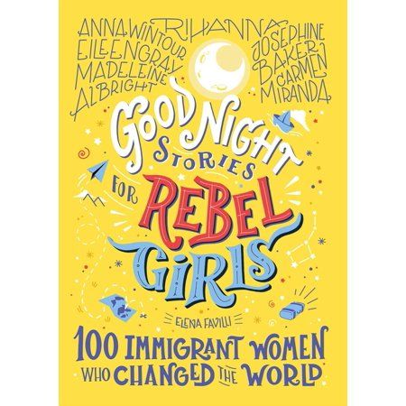 The latest installment in the New York Times bestselling Good Night Stories for Rebel Girls series, featuring 100 immigrant women who have shaped, and will continue to shape, our world. Good Night Stories for Rebel Girls: 100 Immigrant Women Who Changed the World is the third book in the New York Times bestselling series for children. Packed with 100 all-new bedtime stories about the lives of incredible female figures from the past and the present, this volume recognizes women who left their bir