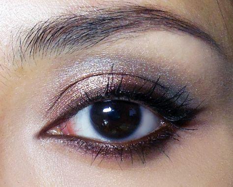 The Big, Brown Cat Eye (plus Cat-eye Liner... - The Makeup Box