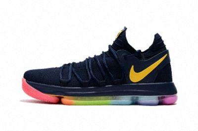 KD 10 X Navy Be True Rainbow | Rainbow