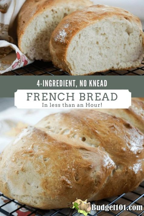 bread recipes without yeast ~ bread recipes + bread recipes homemade + bread recipes easy + bread recipes easy no yeast + bread recipes homemade easy + bread recipes no yeast + bread recipes without yeast + bread recipes videos No Yeast Bread, Yeast Bread Recipes, No Knead Bread, Bread Machine Recipes, Bread Baking, Yeast Free Breads, Vegan Bread Recipe No Yeast, Easy French Bread Recipe, Cornbread Recipes