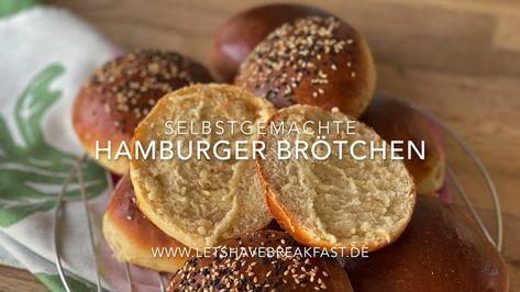 Hamburger Brötchen selber machen