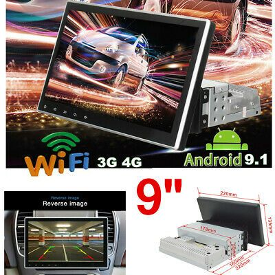 Ad Ebay 9 Android 9 1 Single 1 Din Car Stereo Radio Gps Wifi Obd2 Mirror Link Player In 2020 Car Stereo Android 9 Moto Car