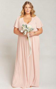 Flattering Plus Size Bridesmaid Dresses & Gowns | Show Me ...