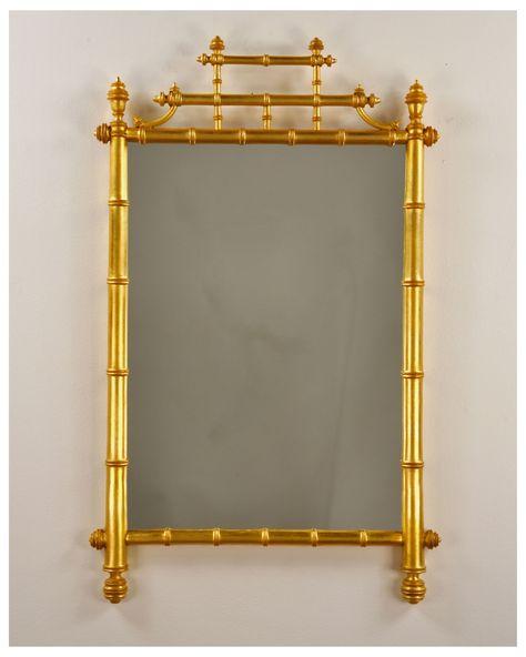 Luxury Antique Gold Brass Bamboo