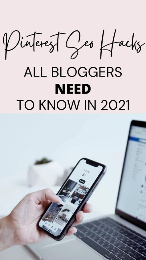 Pinterest SEO Tips All Bloggers NEED To Know To Grow Their Blog and Increase Their Page views.