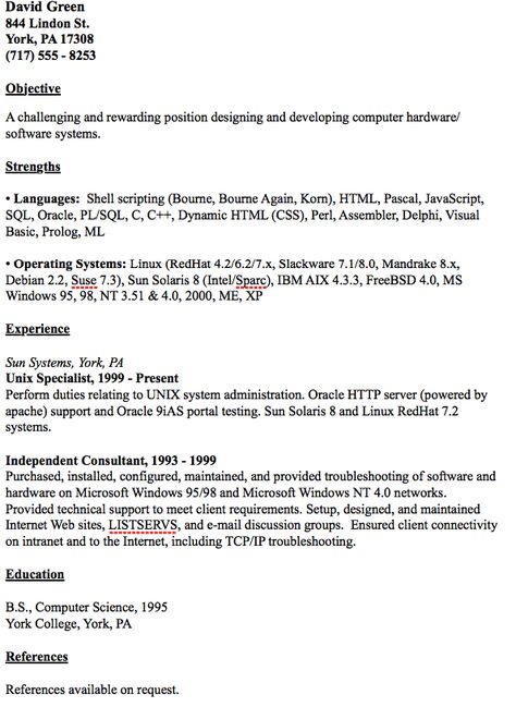 Elementary Music Teacher Resume Example -    resumesdesign - linux system administrator resume sample
