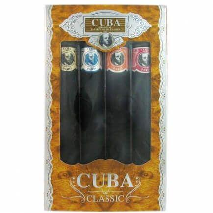 Cuba 4 Piece Variety Set By Cuba Standard Oz Eau De Toilette For Men S Gift Sets Fragrance Gift Fragrance Gift Set Gift Set