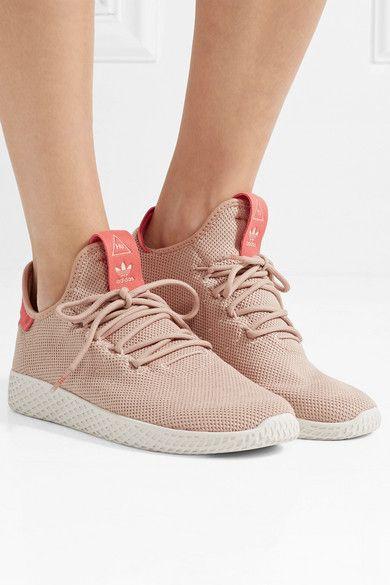 Neutral Pharrell Williams Tennis Hu Primeknit Sneakers Adidas Originals Sneakers White Shoulder Bags Williams Tennis