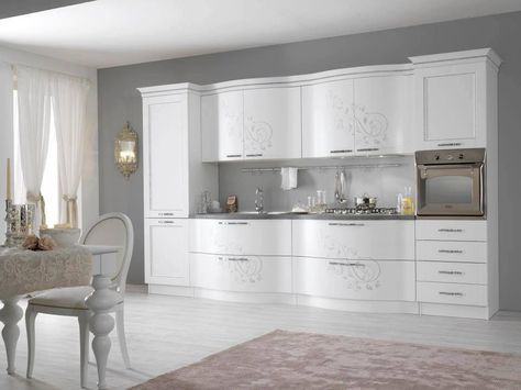 La cucina bianca ❤ adoro | home | Pinterest | Kitchens and House