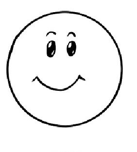 Happy Emoji Coloring Page Emoji Coloring Pages Kindergarten Coloring Pages Object Drawing