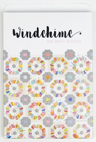 Wind Chime Paper Piece And Acrylic Template Set By Sue Daley English Paper Piecing English Paper Piecing Quilts Paper Piecing