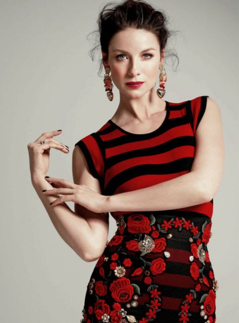 Outlanders Caitriona Balfe: Modeling Prepared Me for Nude Scenes : People.com