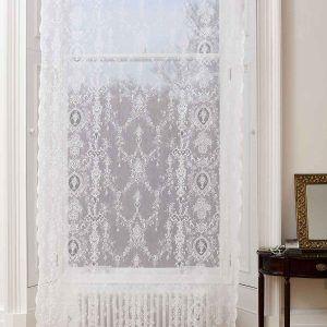 Cotton Lace Curtains Wreath Lace Curtains Lace Window Curtains