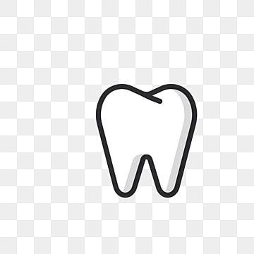 أسنان بيضاء التوضيح المجاني كارتون السن أيقونة الأسنان أسنان Png والمتجهات للتحميل مجانا Tooth Icon Logo Design Free Templates Web Icon Vector