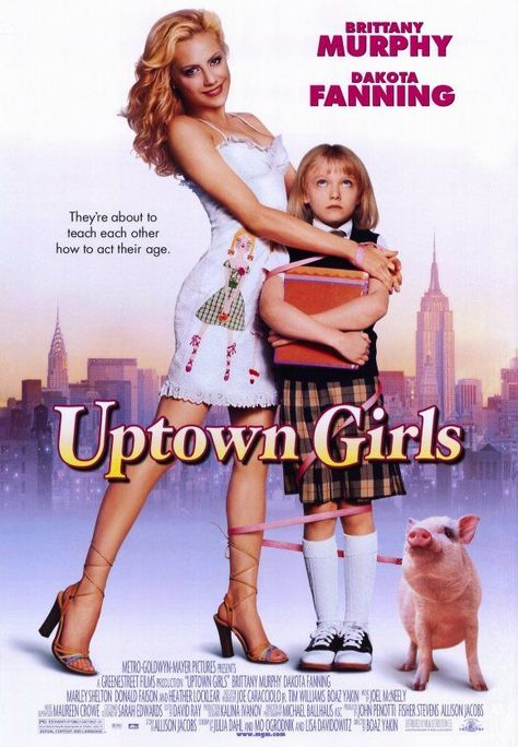 Im happy to say I watched Dakota Fanning from kid to young adult and of course the miss Brittany Murphy
