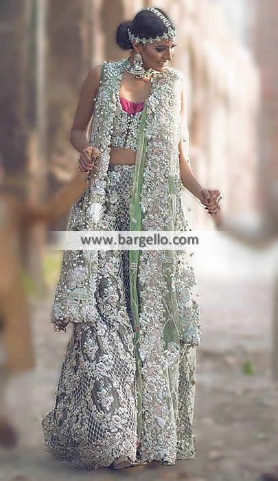 Designer Bridal Dress with Heavy Embellishments - UK USA Canada Australia Saudi Arabia Bahrain Kuwait Norway Sweden New Zealand Austria Switzerland Germany Denmark France Ireland Mauritius and Netherlands