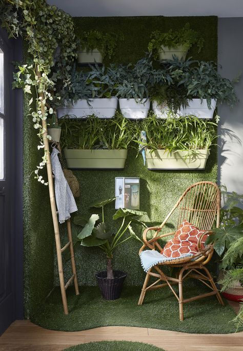 Offrez Vous Un Jardin En Intérieur En Osant Un Mur Végétal