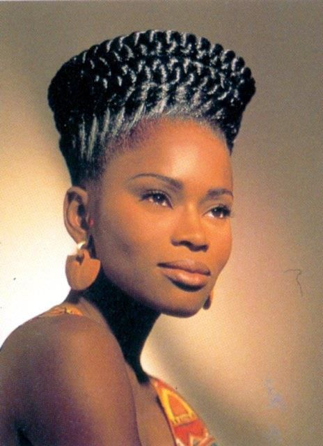 Image Result For Crown Of Braids Black Natural Hair Styles African Hair History African Braids Hairstyles