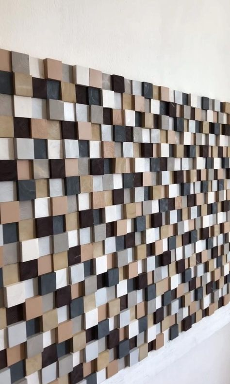 Schöndesign is a Russian based company that develops handcrafted decorative products that reclaimed wood. Meticulously finished by craftsman delivering truly unique and exclusive wall arts.  The size of the piece on photo is 30 x 60 inches.