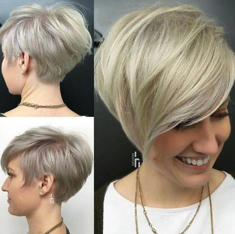 Coafura Par Scurt In Trend In 2019 Coafuri In 2019 Short Hair
