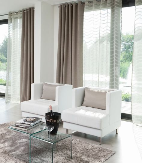 gardinen wohnzimmer rideau redboth gardine einrichten wohnen gemerkt raumgestaltung kreative ideen ga curtain