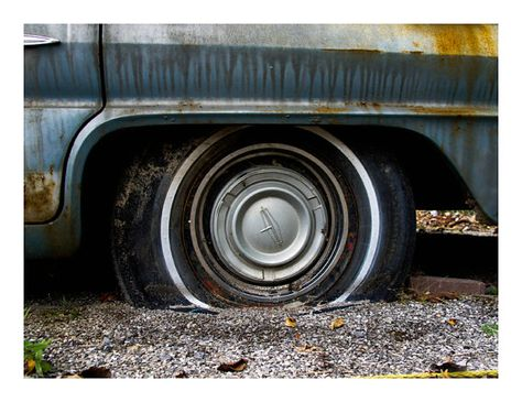 Oldsmobile in Storage 3  8 x 10 by MikeBurnsPhotography