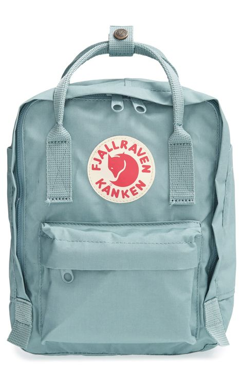 Fjällräven 'Mini Kånken' Water Resistant Backpack - Blue