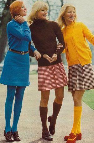 Moda Lata 70 Podkolanowki Fashion 70s Fashion 1970s Fashion