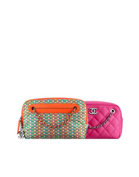 f644b594beae Large metallic lambskin backpack - CHANEL