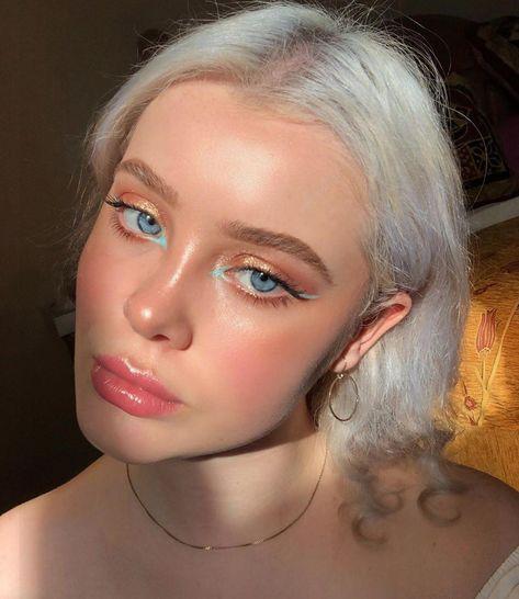 "Thats Not My Thumb on Instagram: ""thank u @euphoria for inspiring my makeup looks for the last 3 weeks"" #eye #eyemakeup #looks #Makeup"